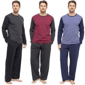 HT337C Men's Jersey Pyjamas