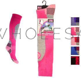 Ladies Ski Socks Thermal Alpine 12 pairs