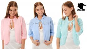 Ladies Knitted Bed Jackets Crochet Design by Lady Olga
