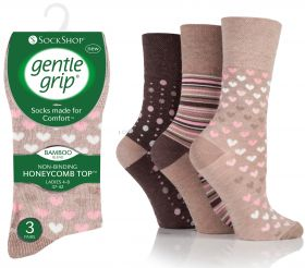 SOLRM34G3 Ladies Neutrals Bamboo Gentle Grip