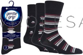 SOMRJ551H3 Rhythm Retro Gentle Grip Socks