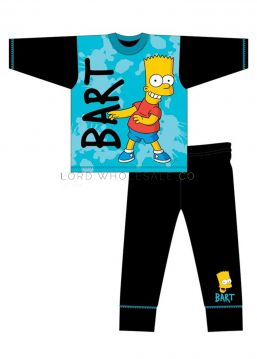 Z01_31346 Older Bart Simpson Pyjamas