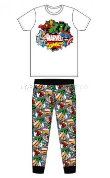 Z01_31553 Men's Marvel Comics Pyjamas