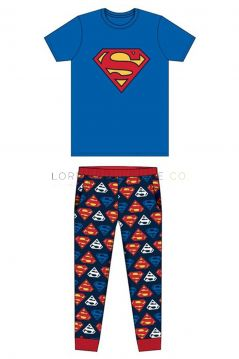 Z01_31776 Superman Logo Pyjamas