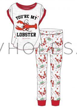 Z01_33291 Ladies Friends Pyjamas 8 pieces