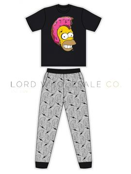 Z01_33496 Men's Simpsons Pyjamas