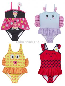 09C035 Butterfly and Friends Swimsuits