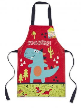 AP1024 Kids Dinosaur Wipe Clean Apron by Cooksmart