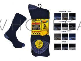 Mens Ultimate Work Socks 3 Pair Pack 6-11
