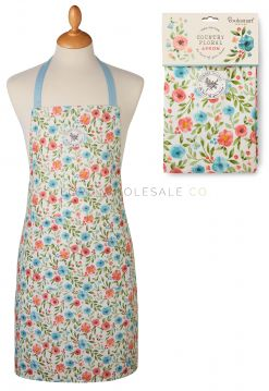 AP1376 Country Floral Apron by Cooksmart
