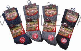 1587 Men's Non Elastic Wool Boot Socks