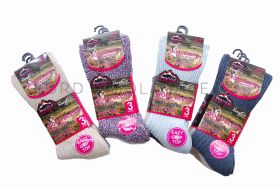 1588 Ladies Non Elastic Wool Boot Socks