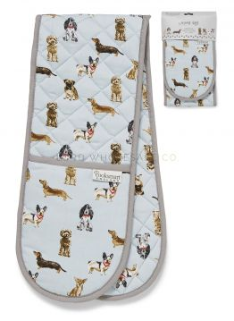 1744 Curious Dogs Oven Gloves by Cooksmart