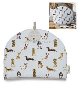 1746 Curious Dogs Tea Cosy by Cooksmart