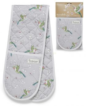 1821 Hummingbirds Double Oven Gloves by Cooksmart