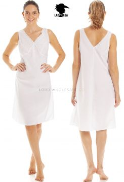 204S Lady Olga Poly Cotton Full Slips