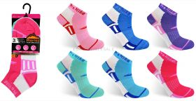 2222 Ladies Trainer Socks
