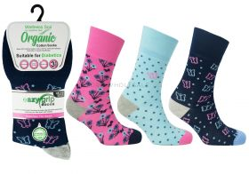 2278 Organic Cotton Socks Hawaii