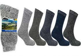 Men's Outdoor Pursuits Socks 3 Pair Pack by Pro Hike