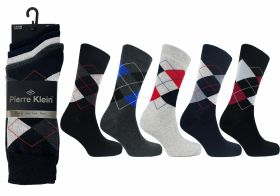 2717 5 Pack Argyle Socks
