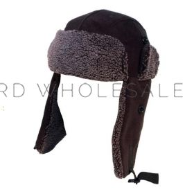Adults Polar Fleece Trapper Hats 12 pieces