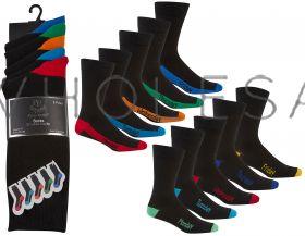 40B397 Men's Week Day Socks by Pierre Roche