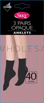 Wholesale 40 Denier Anklets