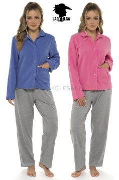 4162 Lady Olga Fleece Bed Jackets