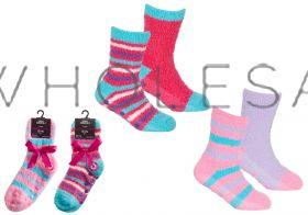 43B730 Wholesale Slipper Socks