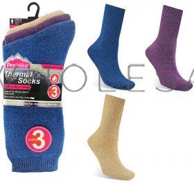 UG599 Ladies Brushed Thermal Socks