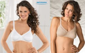 Ladies Soft Cup Bras by Naturana 86545