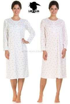 8905 Lady Olga Cuddleknit Nightdresses