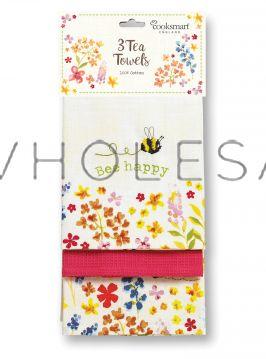 TT9644 Bee Happy Tea Towels