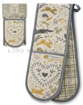 9897 Woodland Double Oven Gloves