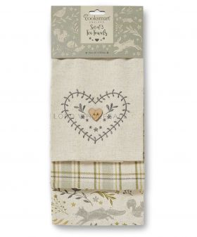 9900 Woodland Tea Towels by Cooksmart