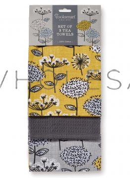 9906 Retro Meadow Tea Towels by Cooksmart