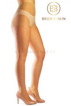 Brown Skin Essentials Tights Light Brown Almond
