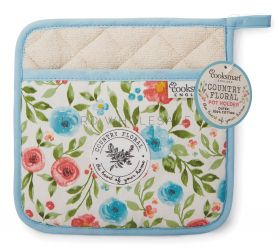 Country Floral Pot Holder by Cooksmart