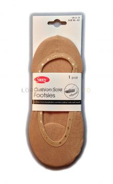 Wholesale Silky Cushion Sole Footsies