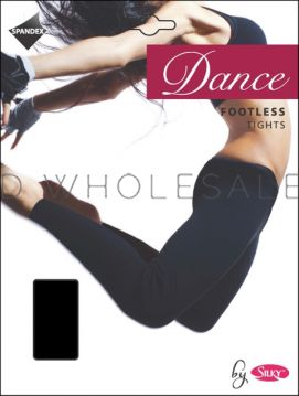 Ladies Footless Dance Tights by Silky