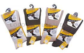 Mens Stay Up Non Elastic Diabetic Socks