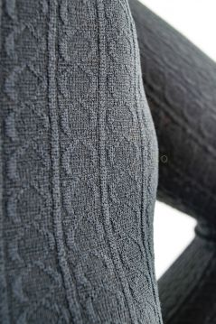 200 Denier Cable Fleece Lined Tights