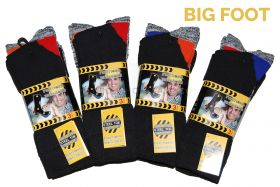 Functional Work Socks Big Foot 11-14 3 Pair Pack