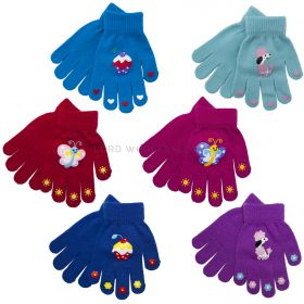 GL108 Girls Thermal Magic Gripper Gloves