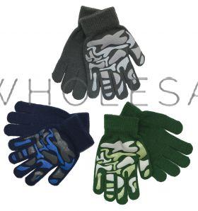 GL111 Childrens Camouflage Gripper Glove