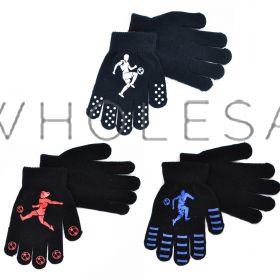 GL113 Children's Football Gripper Gloves