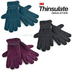 Ladies 3M Thinsulate Fleece Gloves GL136 12 pieces