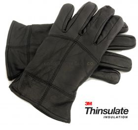 GL318 Men's Thinsulate Leather Gloves