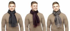 GL381 Mens Herringbone Scarves