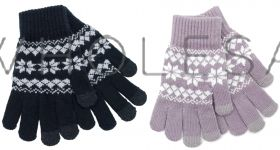 GL541 Fairisle Touchscreen Gloves